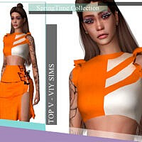 Springtime Collection Top V By Viy Sims