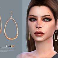 Sandra Earrings By Sugar Owl