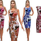 Summer Style Floral Dresses By Saliwa