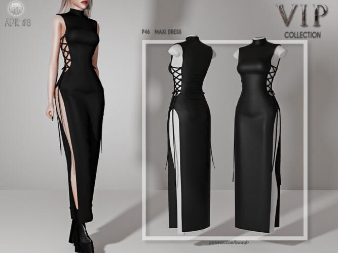 Maxi Dress P46 By Busra-tr
