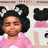 Puffy Peek-a-boo Hairstyle By Drteekaycee