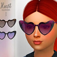 Heart Child Glasses By Suzue