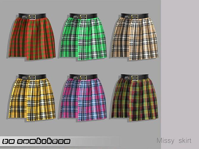 Sims 4 Belaloallure Missy skirt by belal1997 at TSR