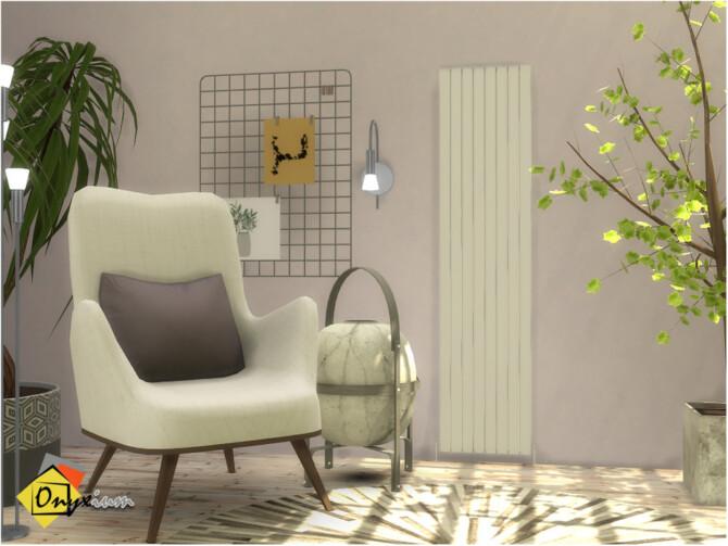 Sims 4 Nova Decorative Radiator by Onyxium at TSR