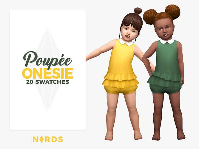 Poupee Onesie By Nords