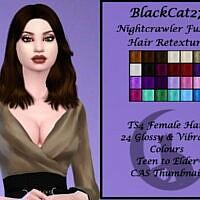 Nightcrawler Fusion Hair Retexture By Blackcat27