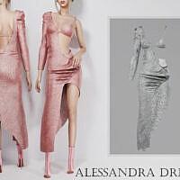 Alessandra Dress By Turksimmer
