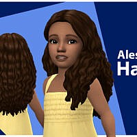 Alessia Maxis Match Hair For Toddlers By Qicc