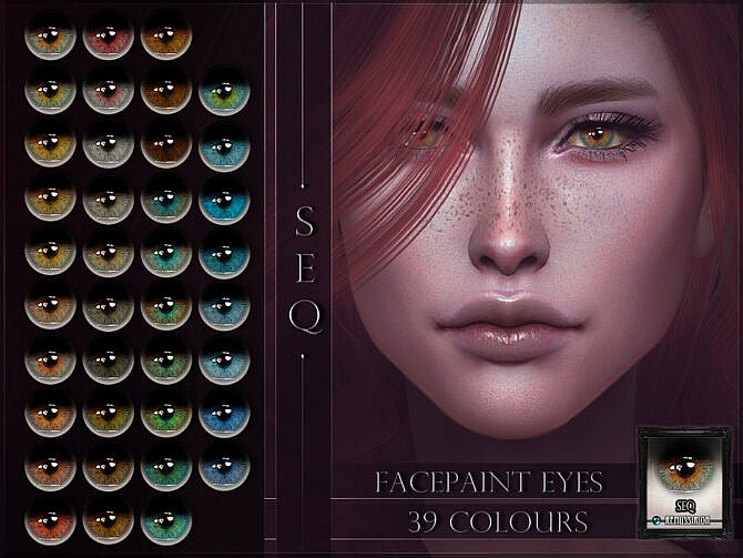 Sims 4 Seq Eyes by RemusSirion at TSR