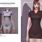 Lmcs Bicycle Dress By Lisaminicatsims