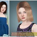 Arya Hairstyle [child] By Darknightt