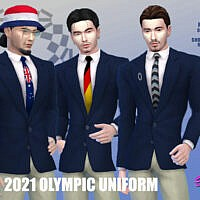 2021 Olympic Uniform By Simmiev