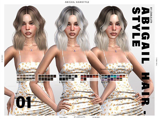 Abigail Hairstyle By Leah Lillith