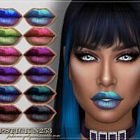Frs Lipstick N253 By Fashionroyaltysims
