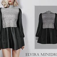 Elvira Minidress By Turksimmer