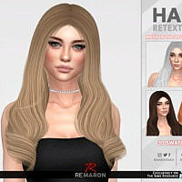 Queen's Layer Hair Retexture By Remaron