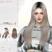 Wings-to0403 Hair By Wingssims