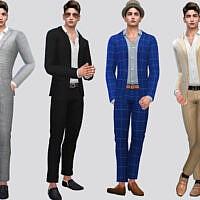 Bastian Men's Suit By Mclaynesims