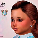 Cute Toddler Earrings By Suzue