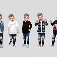 Tantrum Denim Jeans Toddler By Mclaynesims