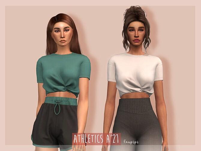 Sims 4 T Shirt TP411 by laupipi at TSR
