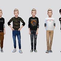 Board Shirt Boys By Mclaynesims