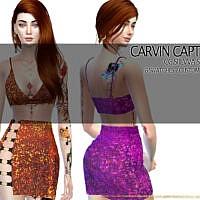 Siilvva Skirt Set By Carvin Captoor
