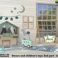 Decors And Children's Toys 2nd Part By Kardofe