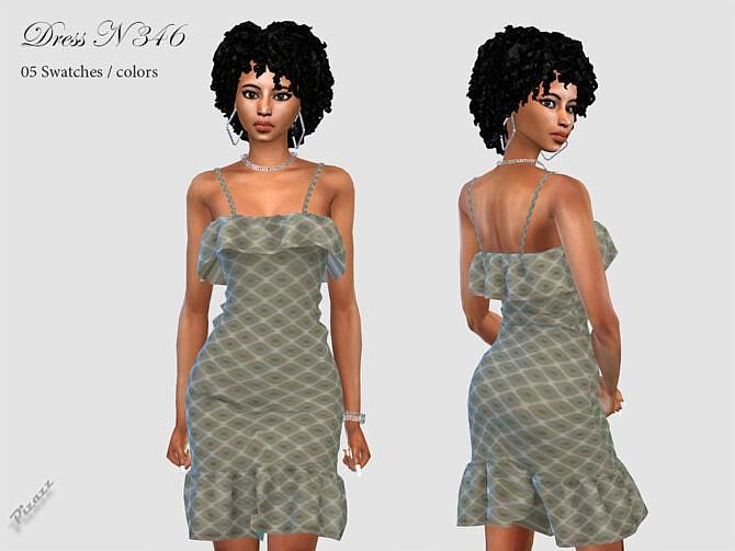 Sims 4 DRESS N 346 by pizazz at TSR