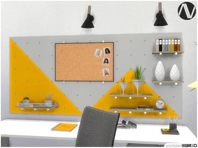 Sims 4 Anaheim Office by ArtVitalex at TSR