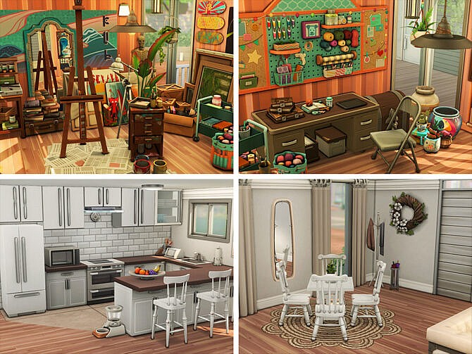 Sims 4 Ego Nest home by xogerardine at TSR