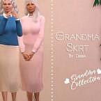 Grandma Skirt By Dissia