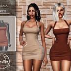 Natasa Dress By Camuflaje