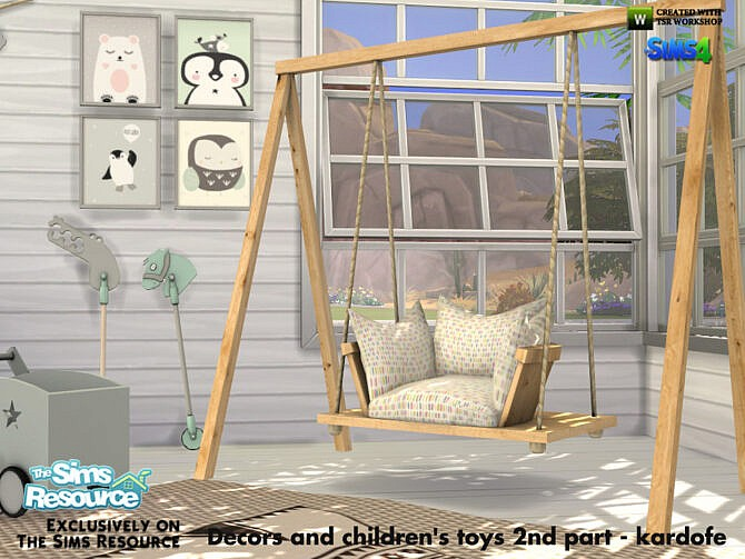Sims 4 Decors and childrens toys 2nd part by kardofe at TSR