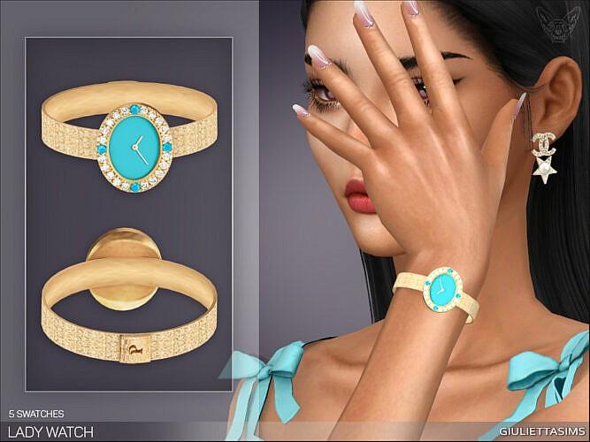 Lady Watch (left Wrist) By Feyona