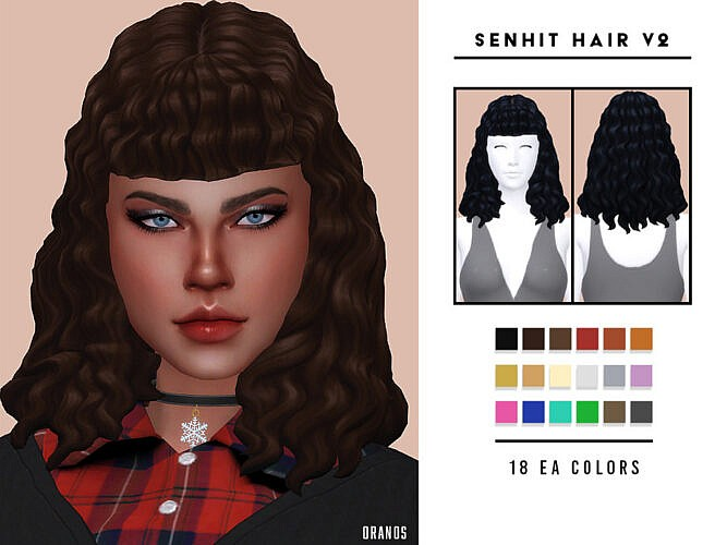 Senhit Hair V2 By Oranostr