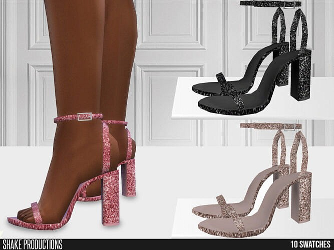 Glitter High Heels 662 By Shakeproductions