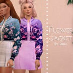 Flower Jacket By Dissia
