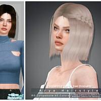 Arya Hairstyle By Darknightt