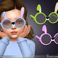 Bunny Sunglasses For Toddlers By Feyona