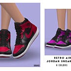Retro Air Jordan Sneakers F By Oranostr