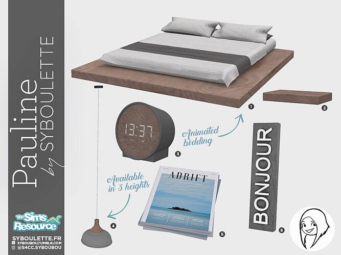 Pauline Bedroom Set By Syboubou