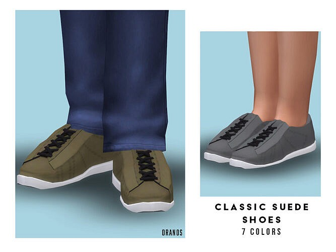 Classic Suede Shoes (child) By Oranostr