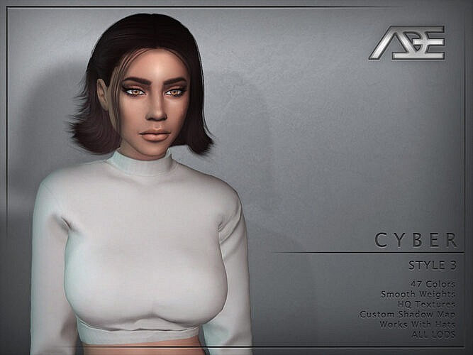 Cyber Style 3 Hairstyle By Ade_darma