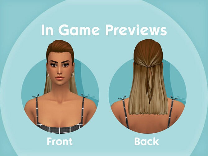Sims 4 Rita Hairstyle by simcelebrity00 at TSR