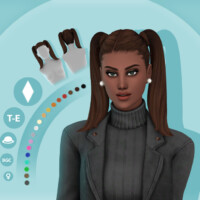Asia Maxis Match Hairstyle By Simcelebrity00