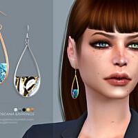 Toscana Earrings By Sugar Owl
