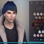 Andy Hair With Beanie By Anto