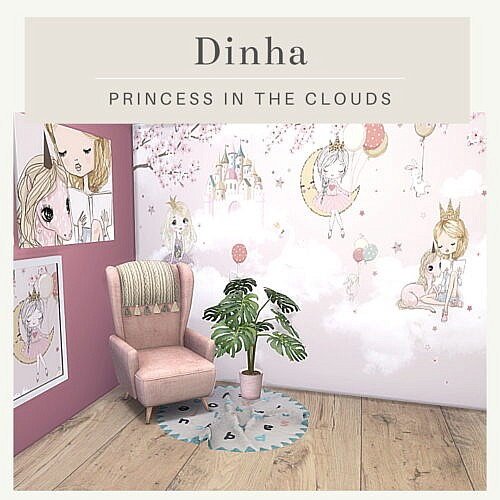 Princess In The Clouds Set