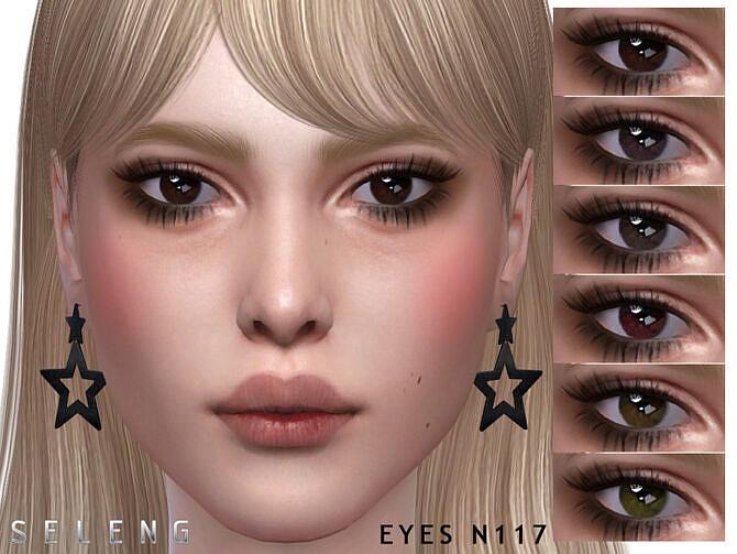 Sims 4 Eyes N117 by Seleng at TSR